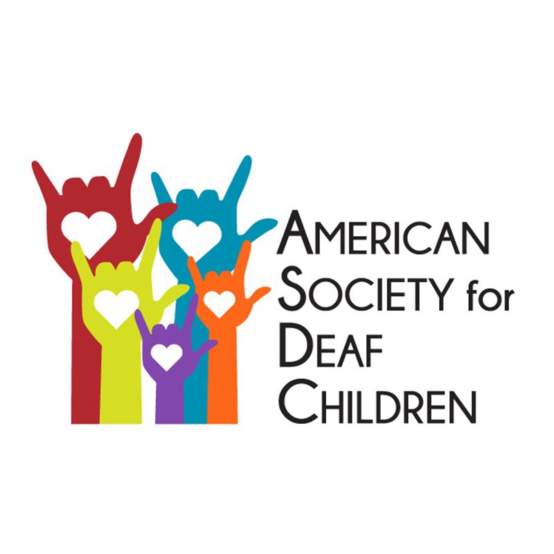American Society for Deaf Children (ASDC) Logo