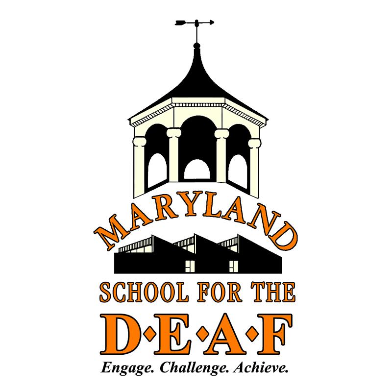 Maryland School for the Deaf (MSD) Logo