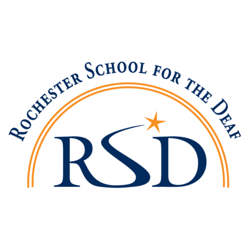 Rochester School for the Deaf (RSD) Logo