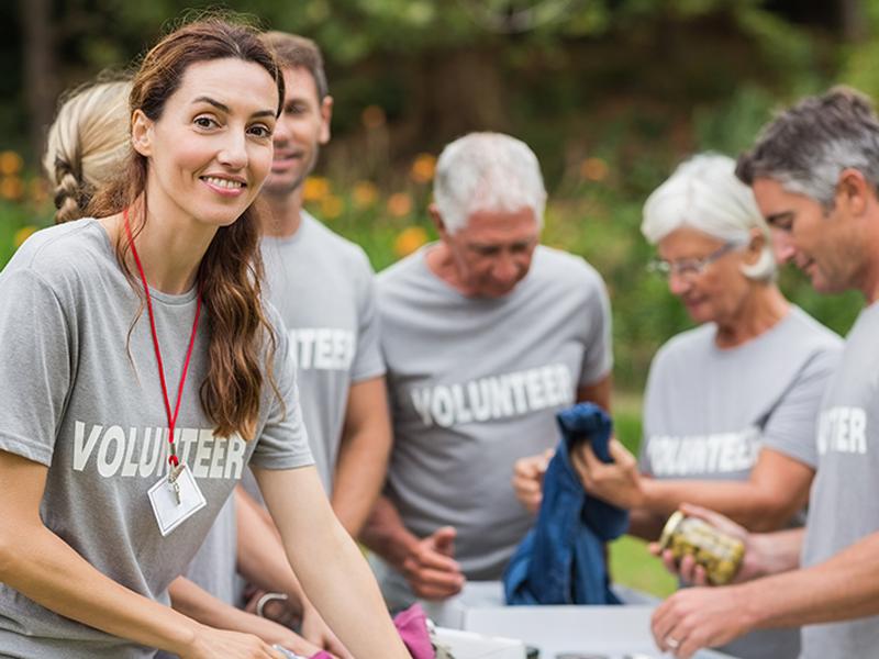 volunteer @ organizations resource; group photo