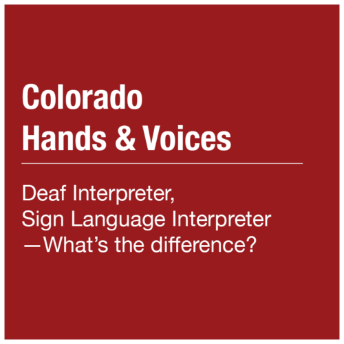 Colorado Hands & Voices - Article