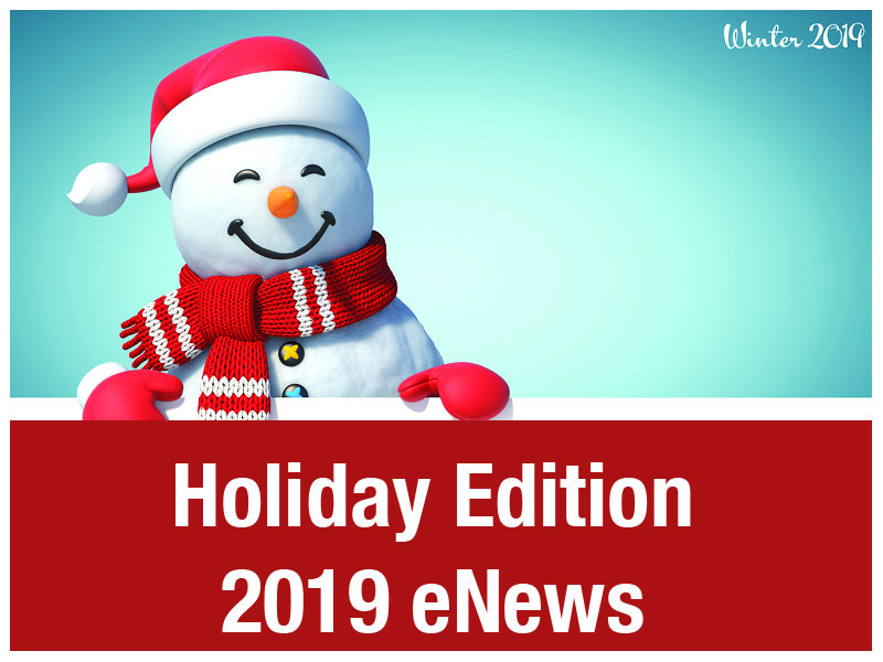 eNews - Holiday Edition 2019