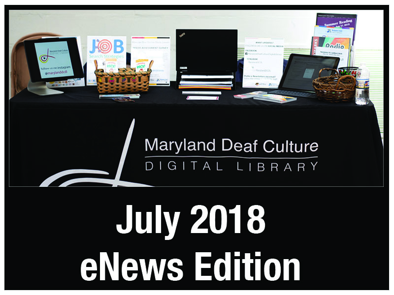 July 2018 eNews Edition