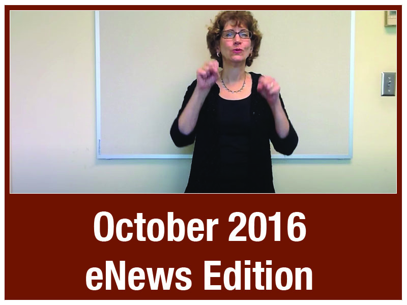 eNews - Oct 2016