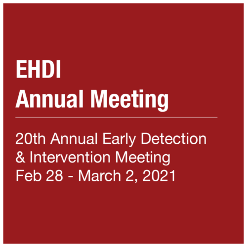 EHDI Annual Meeting 2021