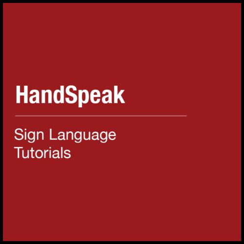 Handspeak: Learn Sign Language Tutorials