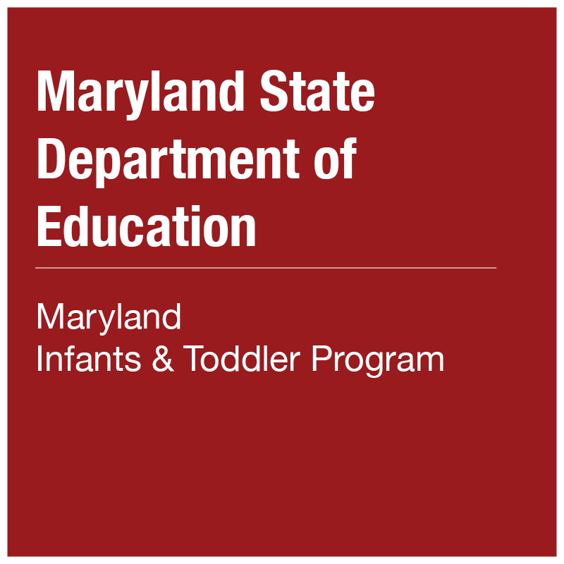 MSDE - Maryland Infants and Toddlers Program