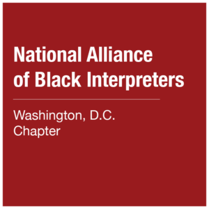 National Alliance of Black Interpreters - DC Chapter