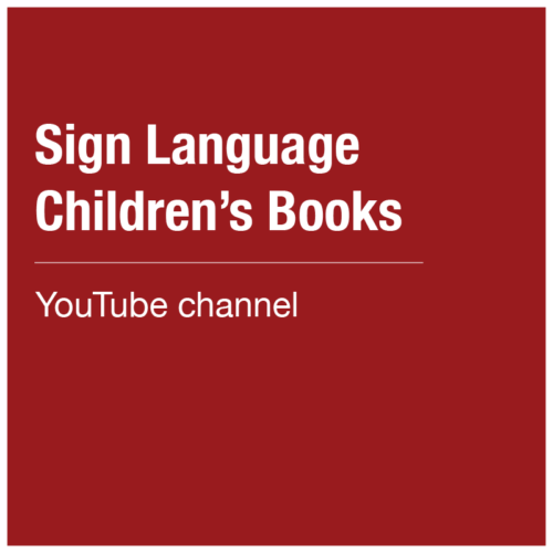 Sign Language Children's Books