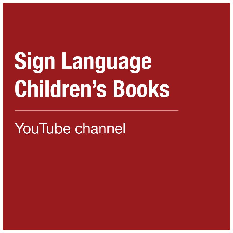 Sign Language Children's Books